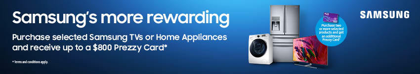 Samsung's More Rewarding Prezzy Card Promo 2018