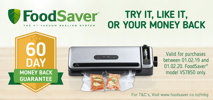 Foodsaver VS7850 Money Back