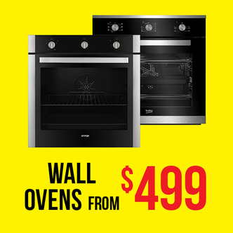 WALL OVENS FROM $499