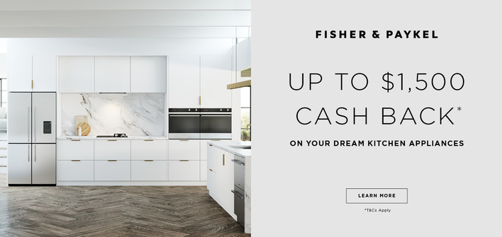 Fisher & Paykel kitchen appliances promo