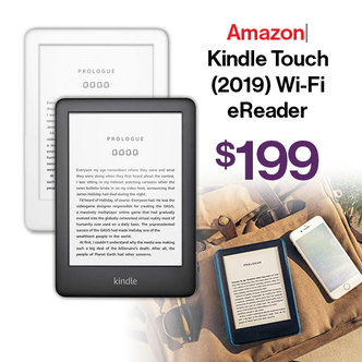 Amazon Kindle Touch (2019) Wi-Fi eReader