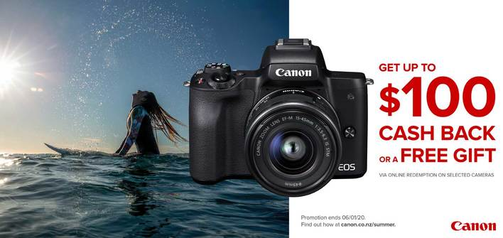 Canon - Camera Summer Promo