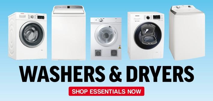 Essentials - Washers & Dryers
