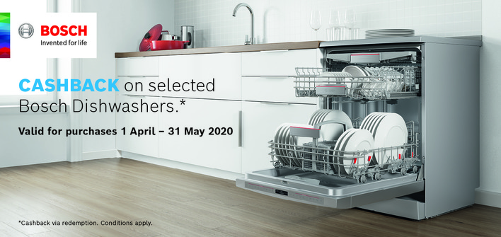 Bosch Cash back - April
