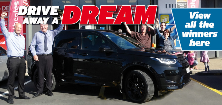 Drive Away A Dream Winners page