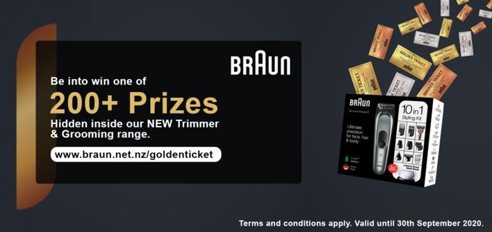 Braun Golden Ticket