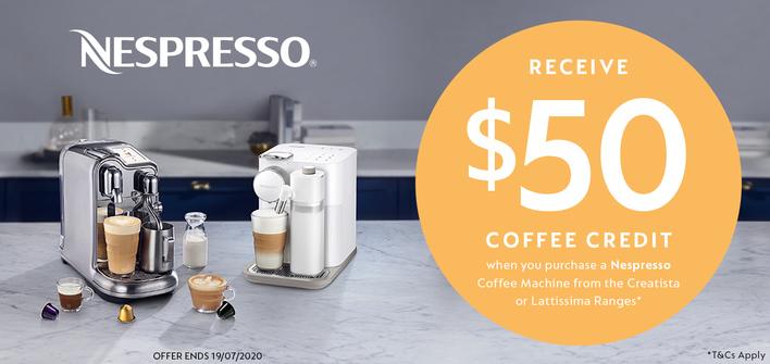 Nespresso $50 Bonus