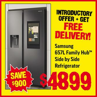 Price Smash - Samsung Fridge