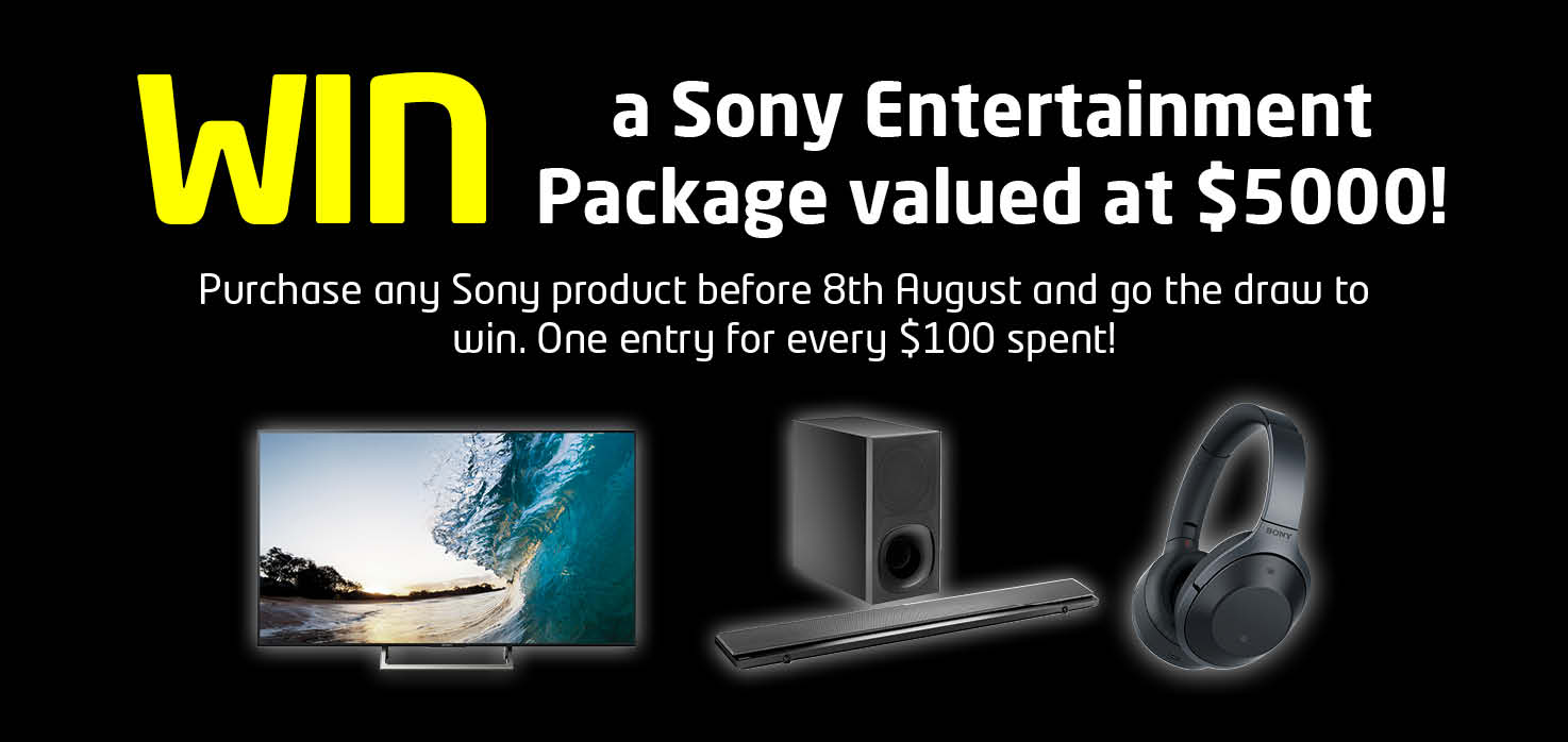 Sony Giveaway