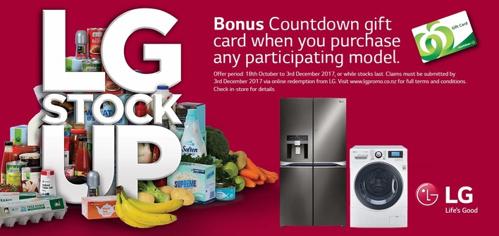 Stock up with LG