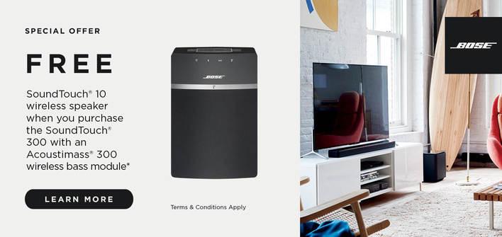 Bose FREE SoundTouch 10 wireless speaker
