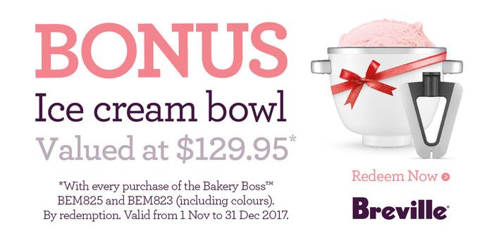 Breville Bonus Ice-Cream Bowl