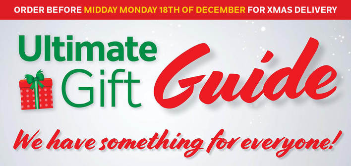 Gift Guide Mailer - Xmas Delivery