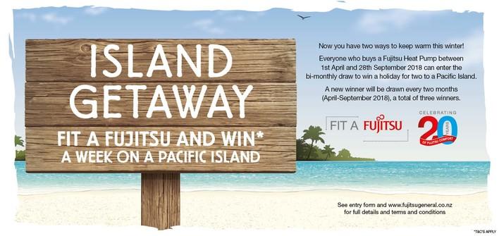 Fujitsu Island Getaway Promotion