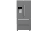 Beko 588L Stainless Steel French Door with Water & Ice Dispenser