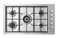 Fisher & Paykel 90cm Flush Gas on Steel Cooktop