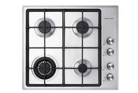 Fisher and Paykel 60cm Gas on Steel Cooktop