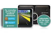 Navman DRIVEDUO SUV - Dashcam + GPS
