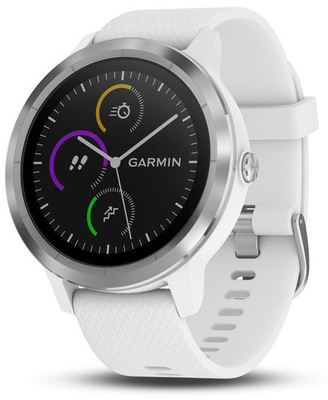 Garmin vivoactive 3 - White with Stainless Hardware (Display)