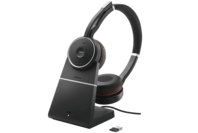Jabra Evolve 75 Wireless Headset (MS) with Charging Stand