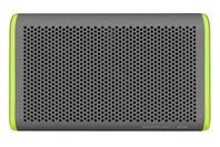 BRAVEN 405 Waterproof Bluetooth Speaker Silver/Green