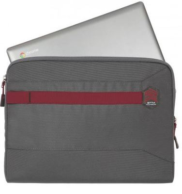 Stm summary laptop sleeve grey 4