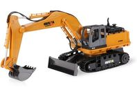 Huina 1/16 2.4G 11Ch RC Excavator Digger with Die-cast Bucket