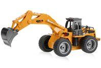 Huina 2.4G 6Ch RC Wheeled Digger