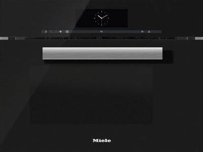Miele Steam Oven with Microwave Obsidian Black