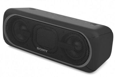 Sony portable wireless bluetooth speaker black %282%29