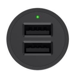 Belkin boostup 2 port car charger usb a to lightning cable f8j221bt04 blk 4