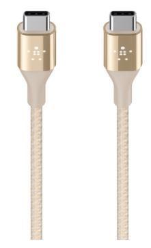 F2cu050bt04g belkin mixit duratek usb c cable gold 2