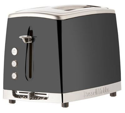 Rht62gry russell hobbs lunar 2 slice toaster grey