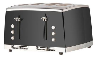Russell Hobbs Lunar 4 Slice Toaster Grey
