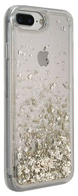 3SIXT iPhone 8+/7+/6S+/6+ PureGlitz Case (Gold / Silver)