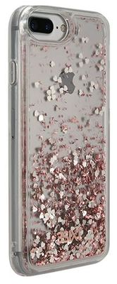 3SIXT iPhone 8+/7+/6S+/6+ PureGlitz Case (Rose Gold / Silver)