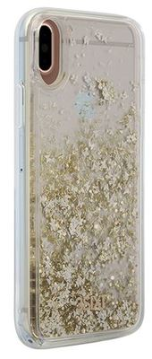 3SIXT iPhone X PureGlitz Case (Gold / Silver)