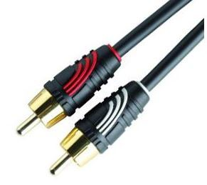 QED 1M RCA Stereo Cable
