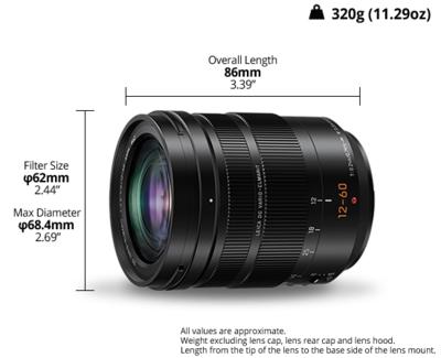 H es12060e panasonic h es12060e leica dg lens 2