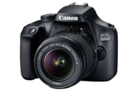 Canon EOS 3000D DSLR with EF-S 18-55mm Lens