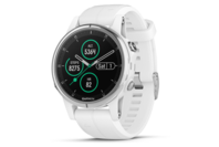 Garmin fenix 5S Plus White with White Band