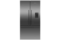 Fisher & Paykel 614L Black French Door Fridge