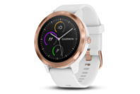 Garmin vivoactive 3 - White with Rose Gold Hardware