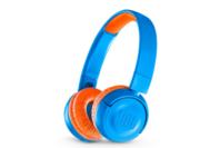 JBL JR300BT Kids Wireless On-Ear Headphones Rocker Blue