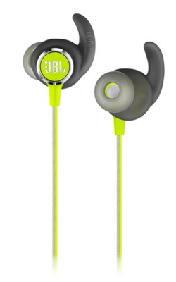 JBL Reflect Mini 2 Sweatproof Wireless Sport In-Ear Headphones Green