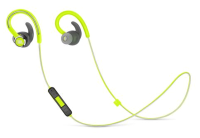 JBL Reflect Mini 2 Sweatproof Wireless Sport In-Ear Headphones Green