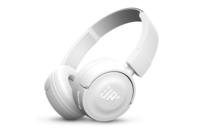 JBL T450BT Wireless On-Ear Headphones White