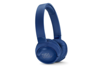 JBL TUNE600 Wireless On-Ear Active Noise-cancelling Headphones Blue