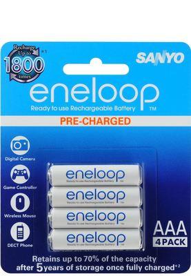 Panasonic Eneloop Rechargeable AAA 4pk