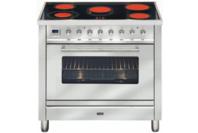 ILVE 90cm Stainless Steel Ceramic Freestanding Cooker